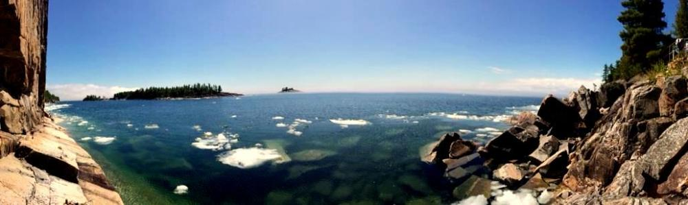The Agawa Rock Pictographs