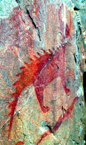 Agawa Rock Pictographs - Mishipeshu