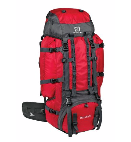 Outbound Expedition Backpack, 75 L. Photo courtesy of www.canadiantire.ca.
